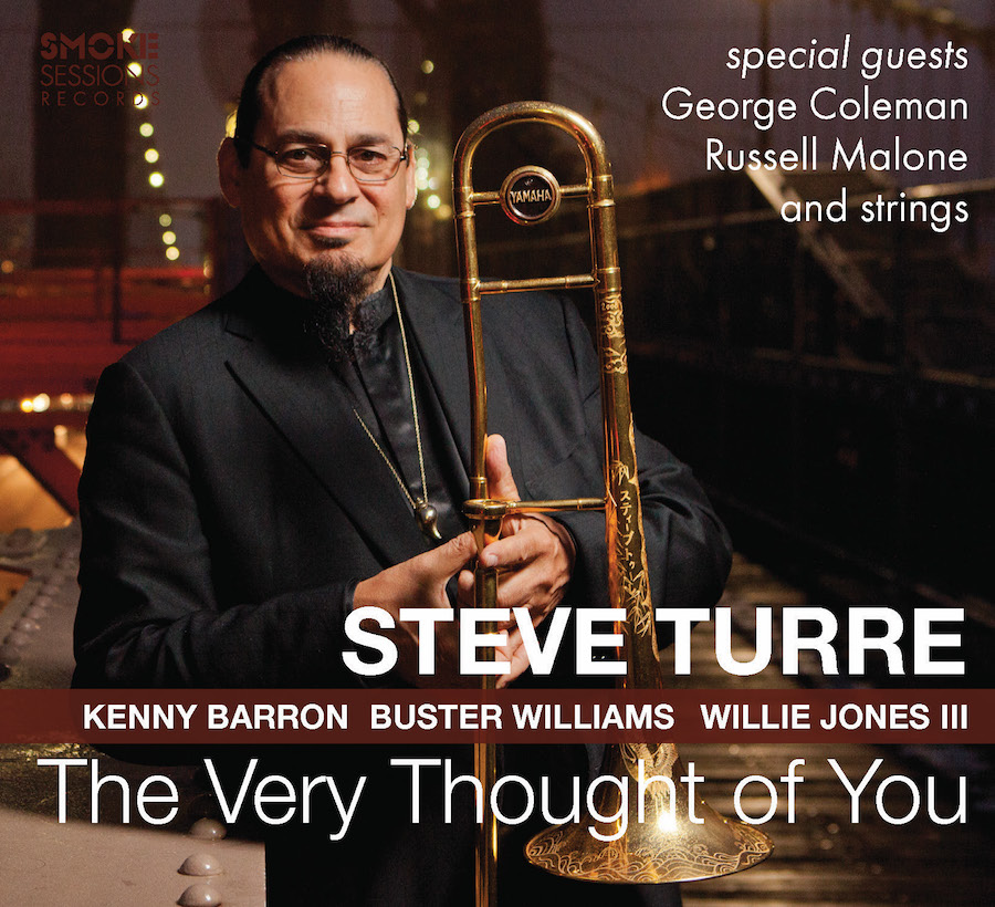 Steve Turre THE VERY THOUGHT OF YOU_Cover copy