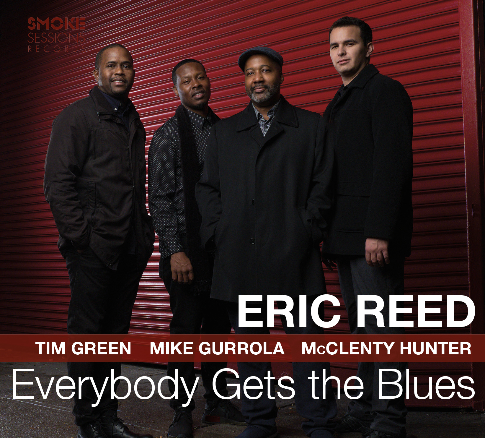 Eric Reed EVERYBODY GETS THE BLUES_Cover
