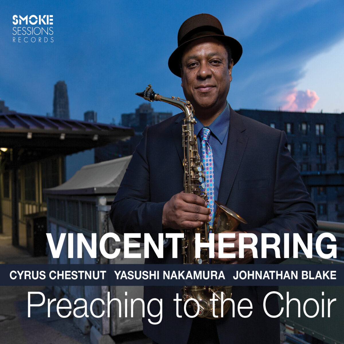 Vincent Herring PREACHING TO THE CHOIR Cover (1)