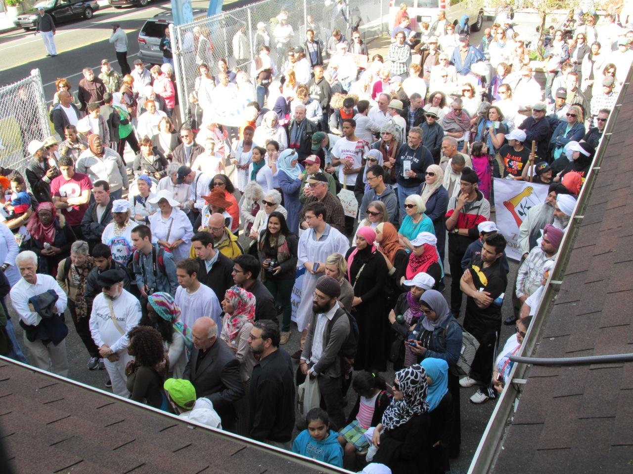 Interfaith Walk for Peace