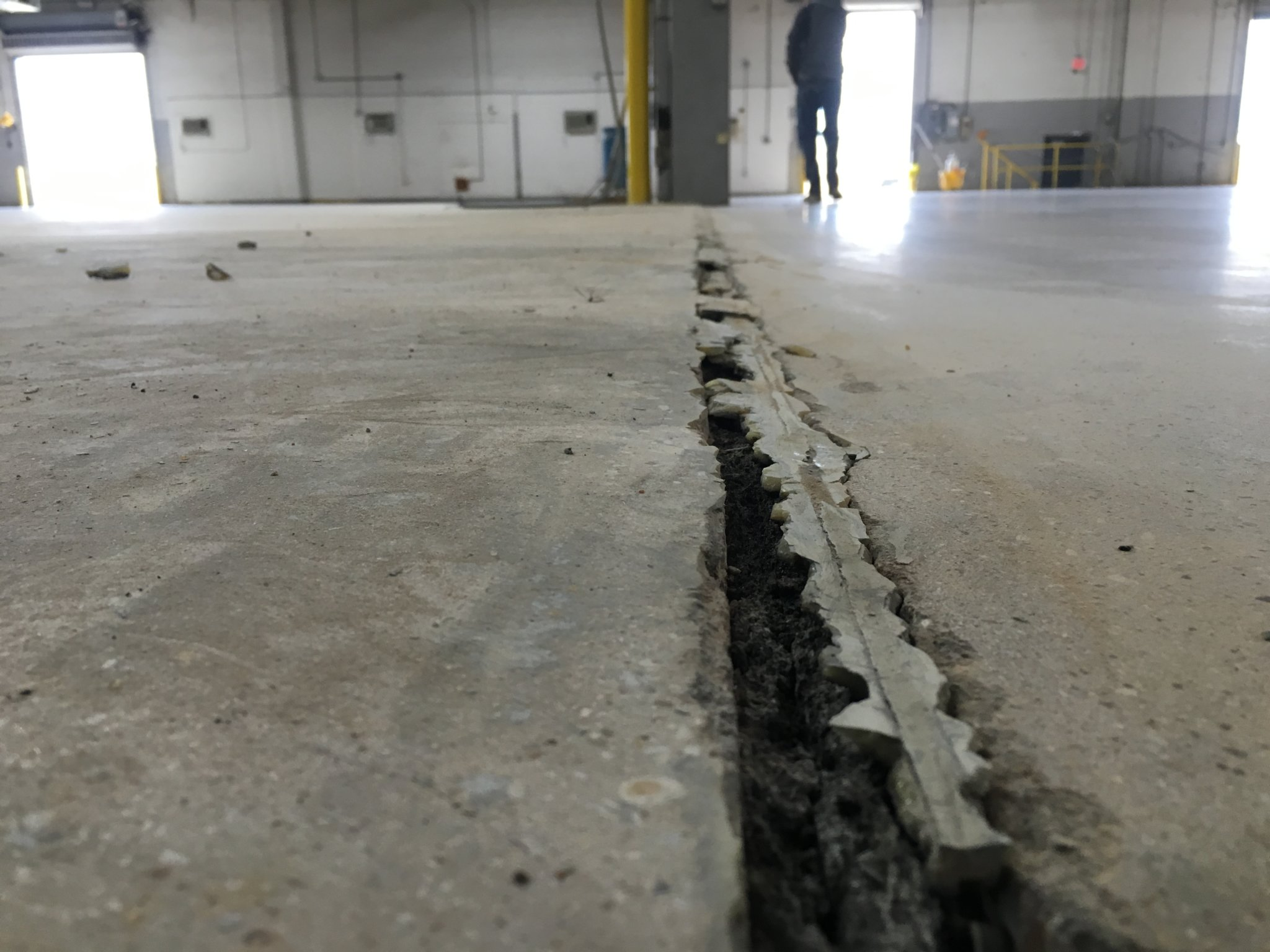 Concrete Joint Section Repair Usar