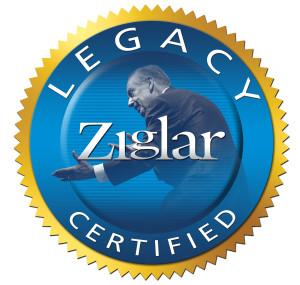 Announcement:  Zig Ziglar, Legacy Certification!
