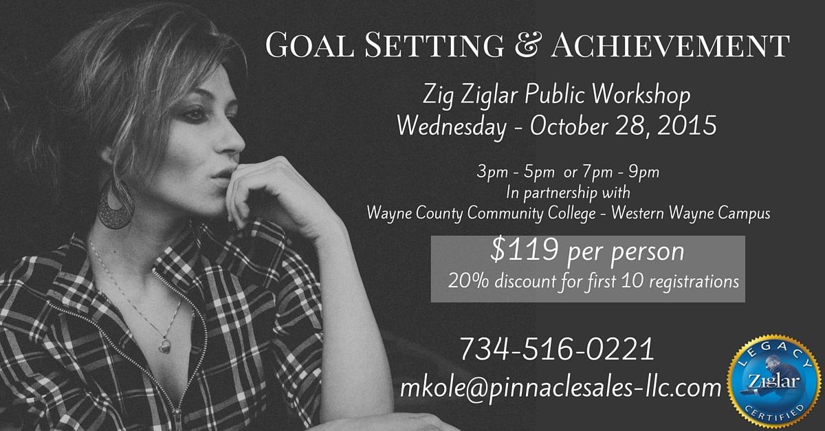 Ziglar Training 40% Savings!