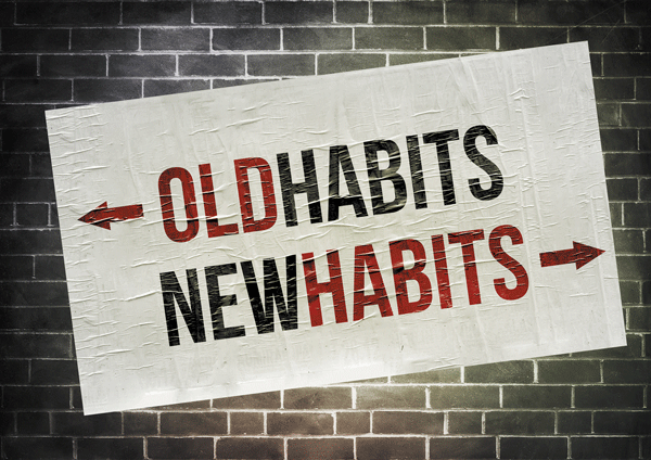 3-step process to good habits