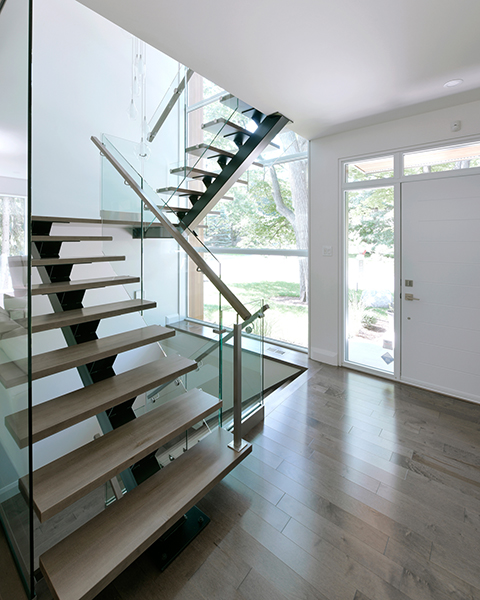 ENTRIES and STAIRS 1