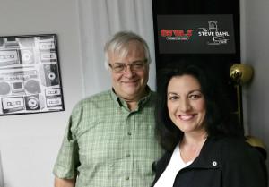 Steve Dahl with Susan Rowlen