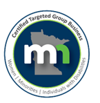 Certified Targeted Group Business MN Logo