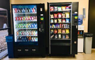 Admissions vending machines
