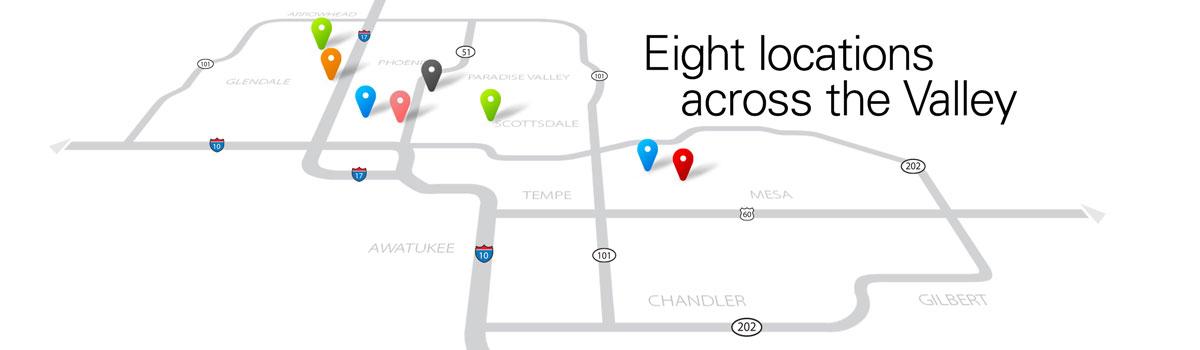 Crossroads Centers   7 Locations Across Phoenix