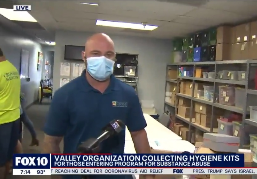 FOX 10 visits Crossroads at Shoebox Ministries to talk about their amazing work