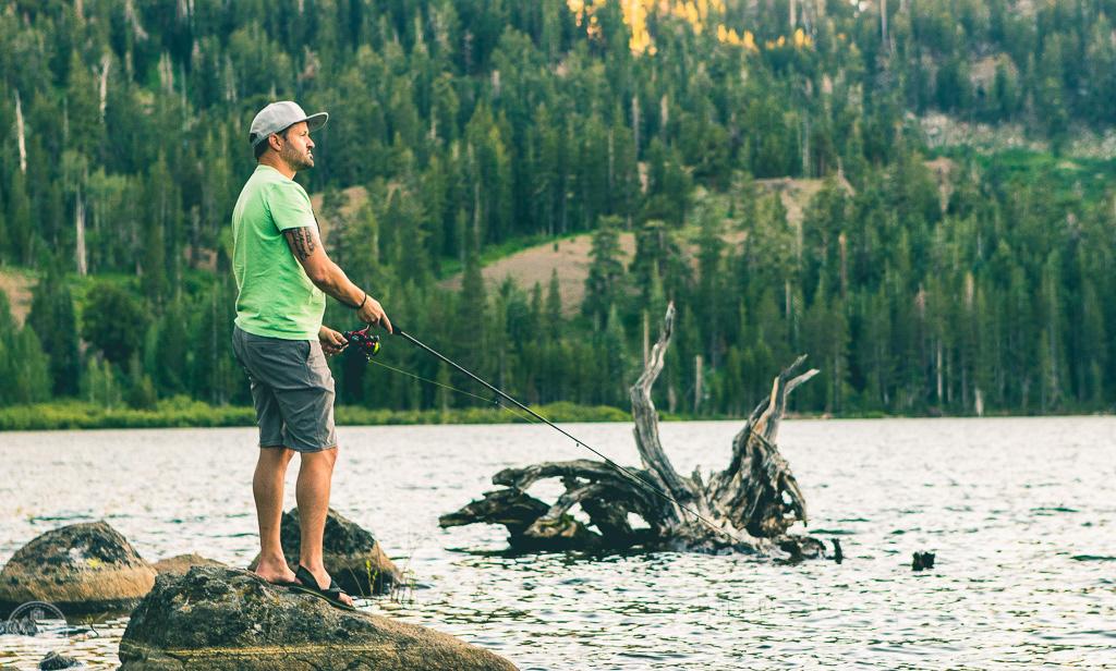 bank fishing, south lake tahoe, tahoe, red lake