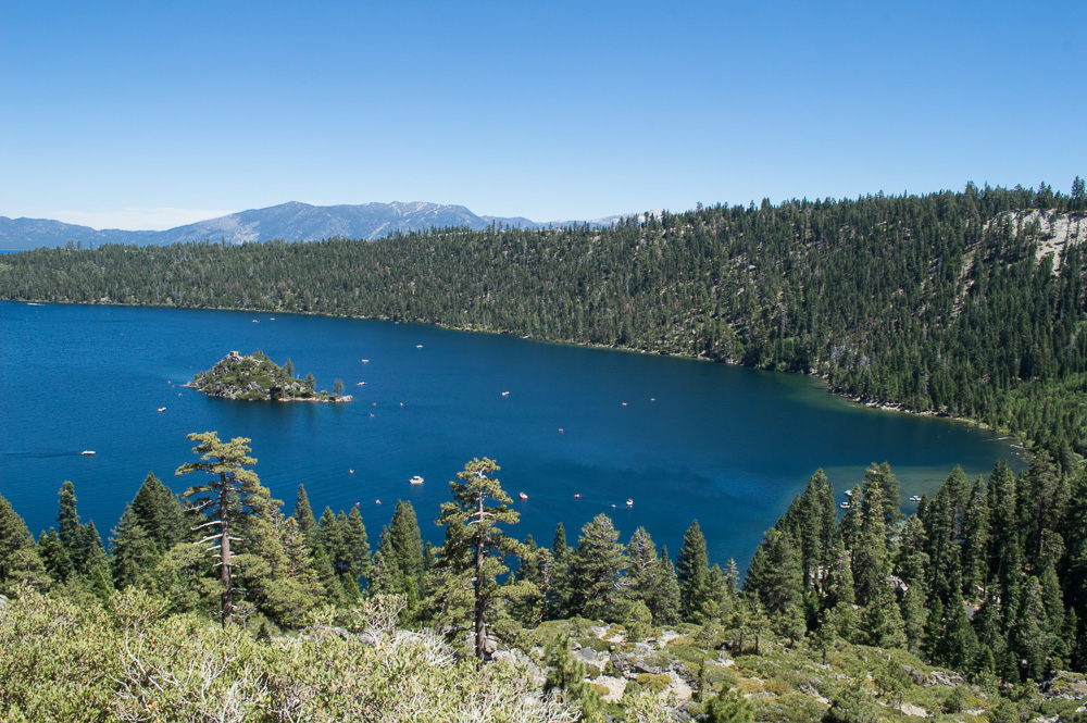 hike in south lake tahoe, emerald bay