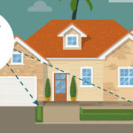Home Inspector checking for Wood-Damage caused by Termites in Florida