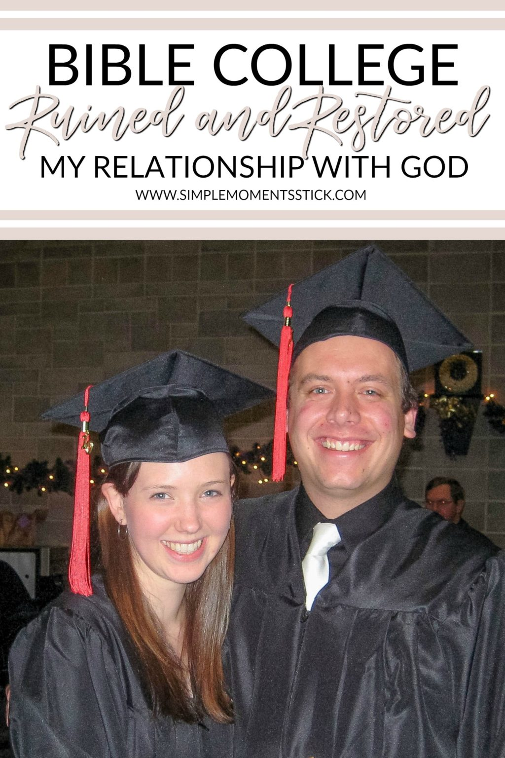 Attending Multnomah Bible College ruined and restored my relationship with God.  #biblecollege #faith #ministry #christianliving