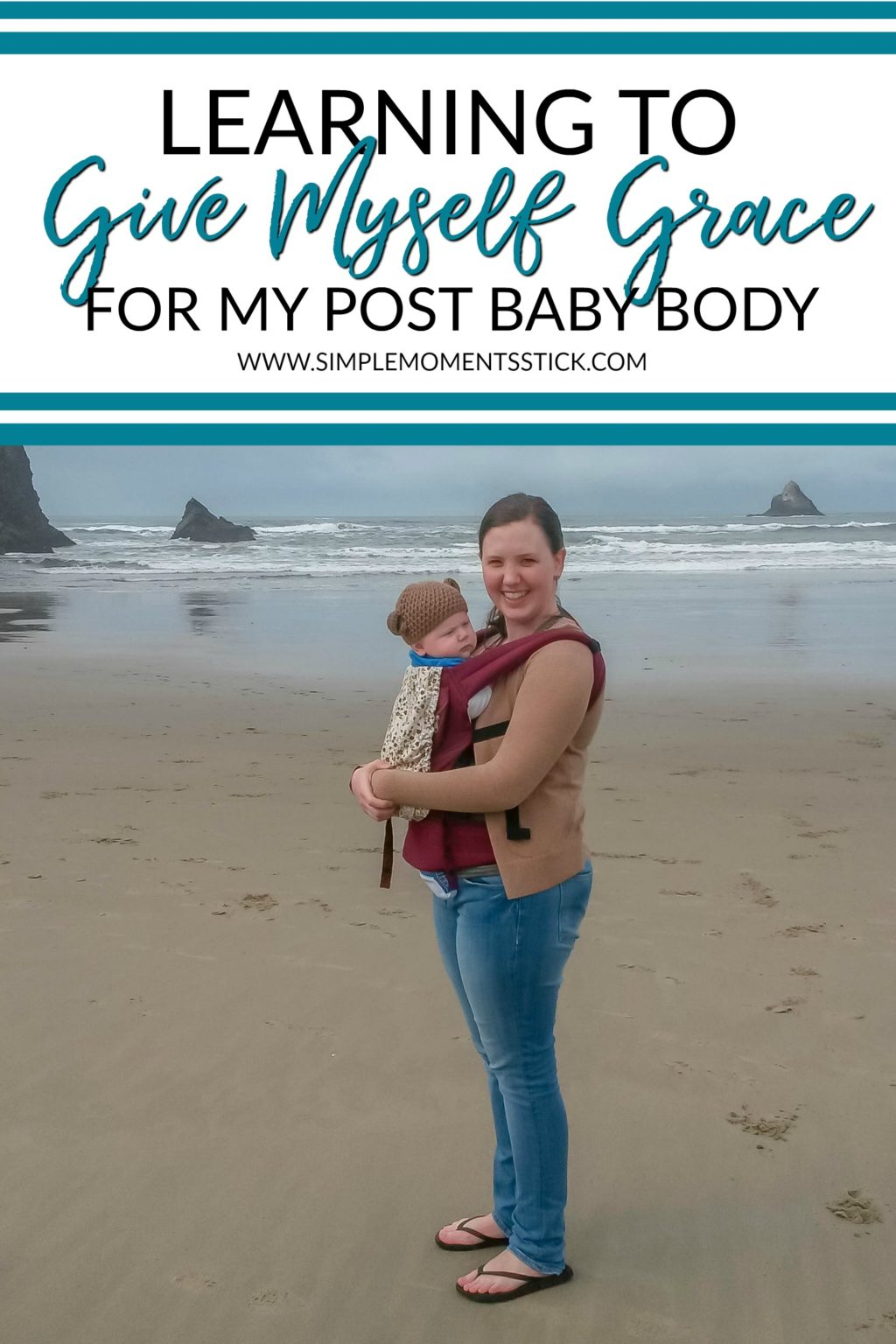 I'm having a hard time accepting my post baby body.  I hope what I'm learning helps you!