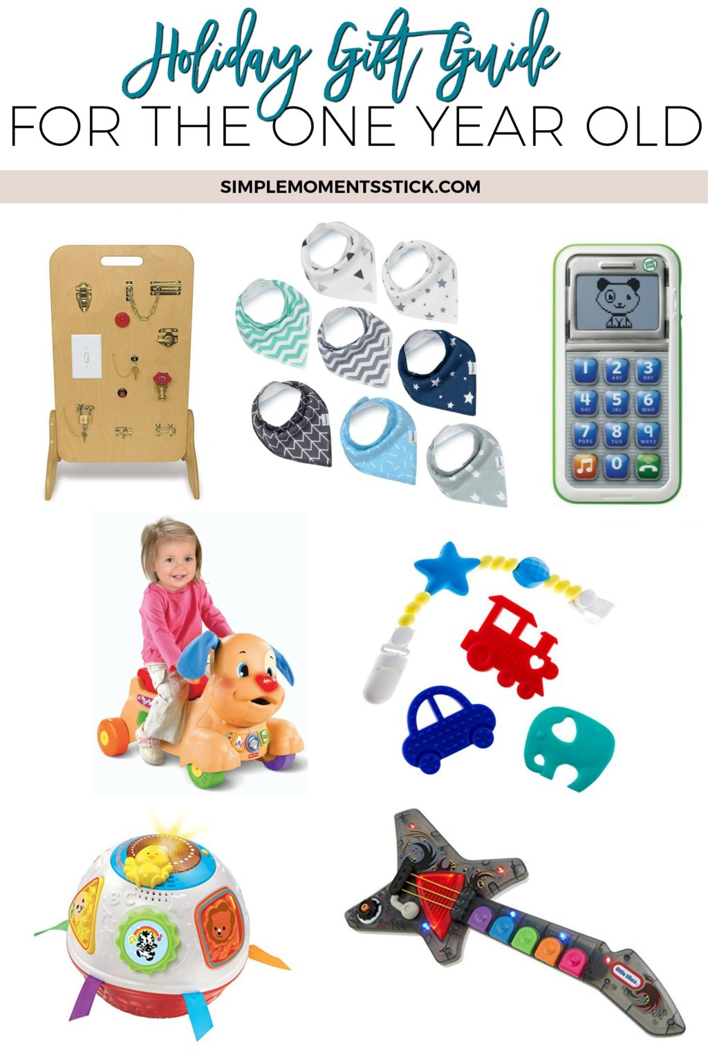 The only gift guide you need for your one year old!