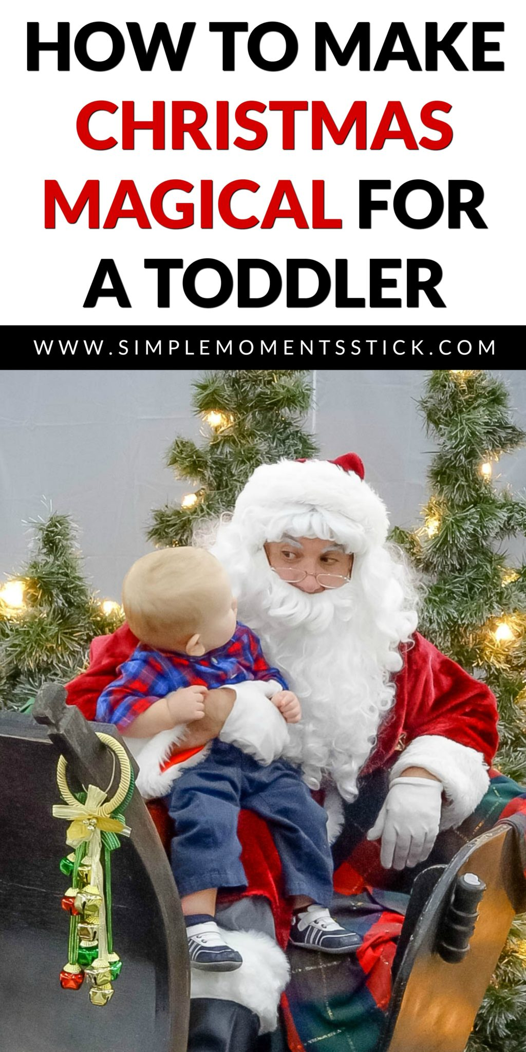 Christmas with a toddler can get crazy. Thankfully, there are tons of things you can do to keep your sanity and allow your kiddo to have fun all season long!