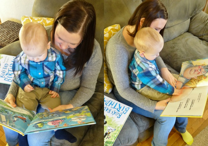 Keep your toddler entertained during story time with The Story Box