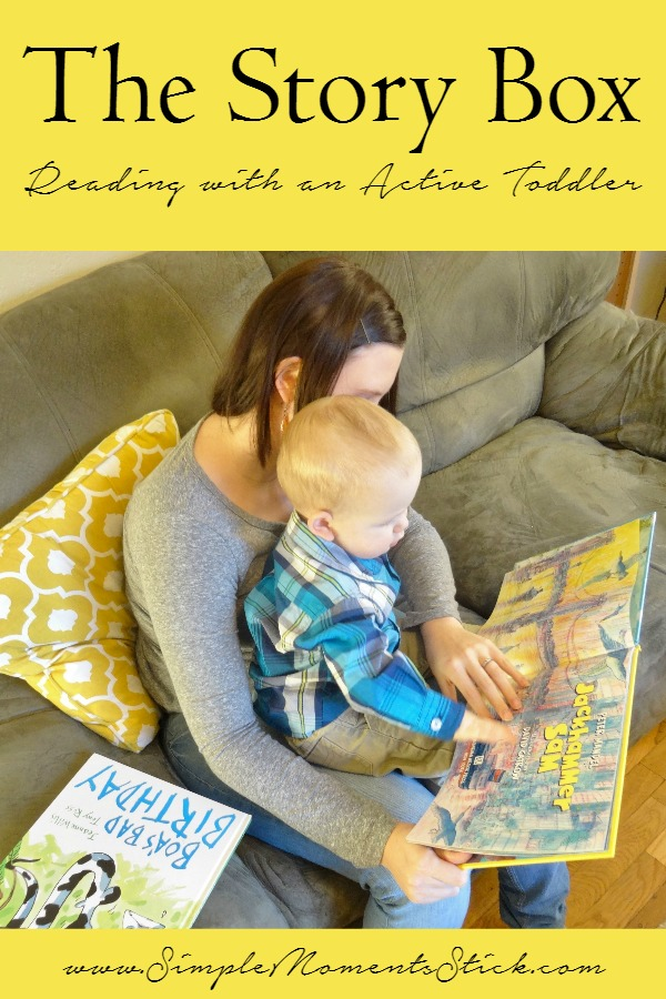 Reading with an Active Toddler