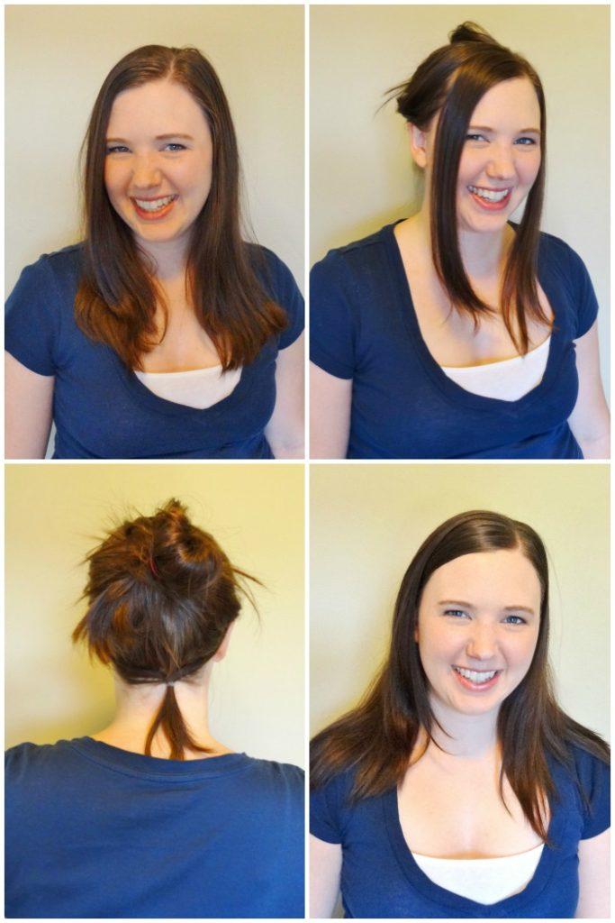 Need to pull your unruly hair into place but don't want to throw it into a bun?  Try the hair headband!