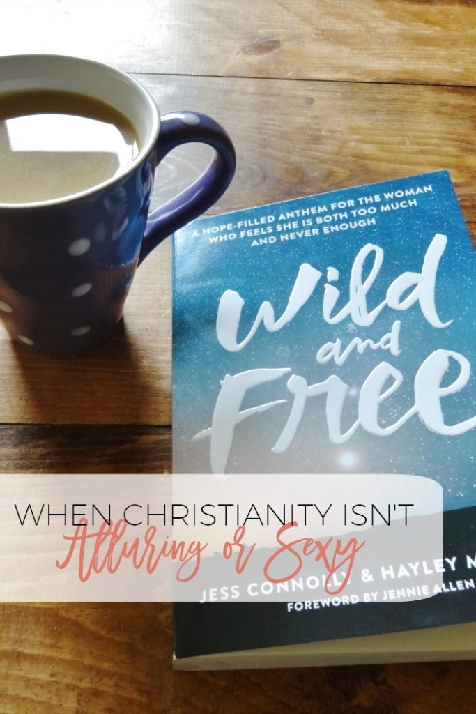 "Sometimes Christianity just isn't sexy.  You know what I mean, the missionaries, mega church pastors, inner city youth leaders - THEY'RE the ones living the ""sexy"" Christian lives.  But wait, God calls ALL of us to live for Him!  All our lives are to be wild!"
