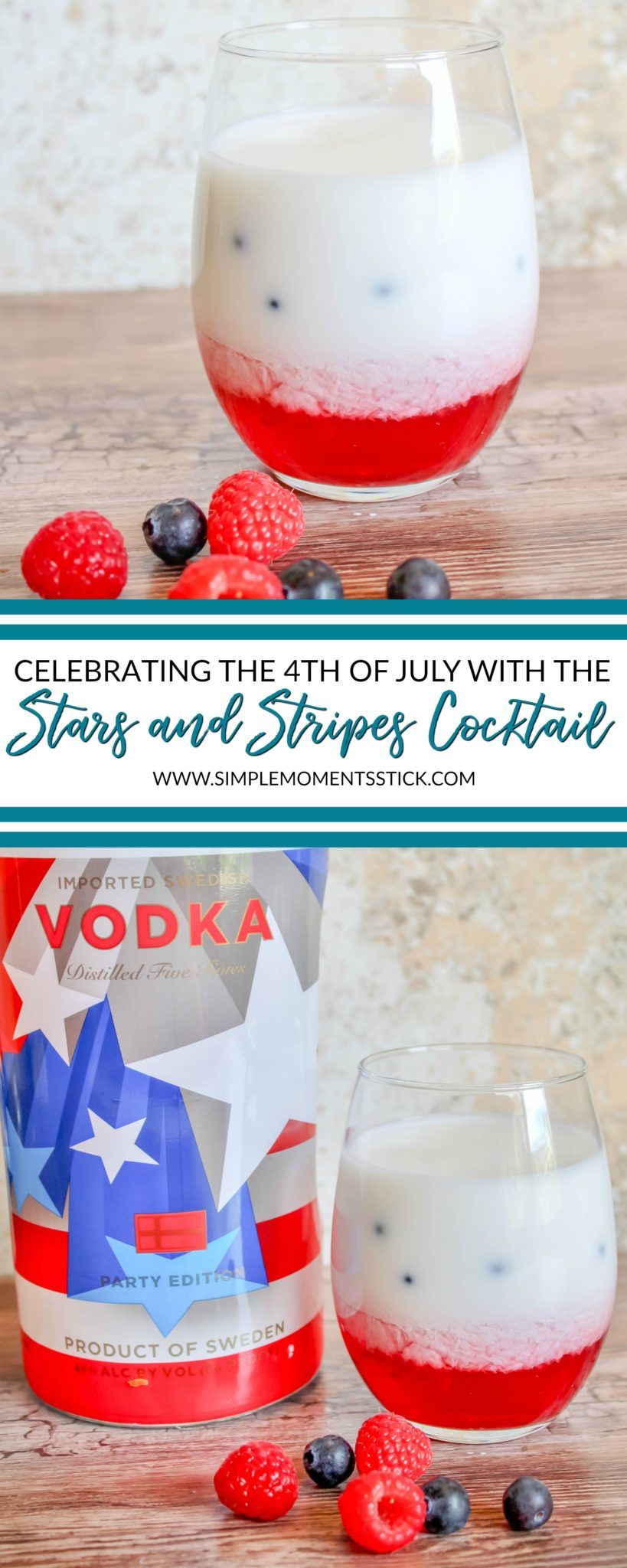 Get the instructions for a fantastic Fourth of July cocktail