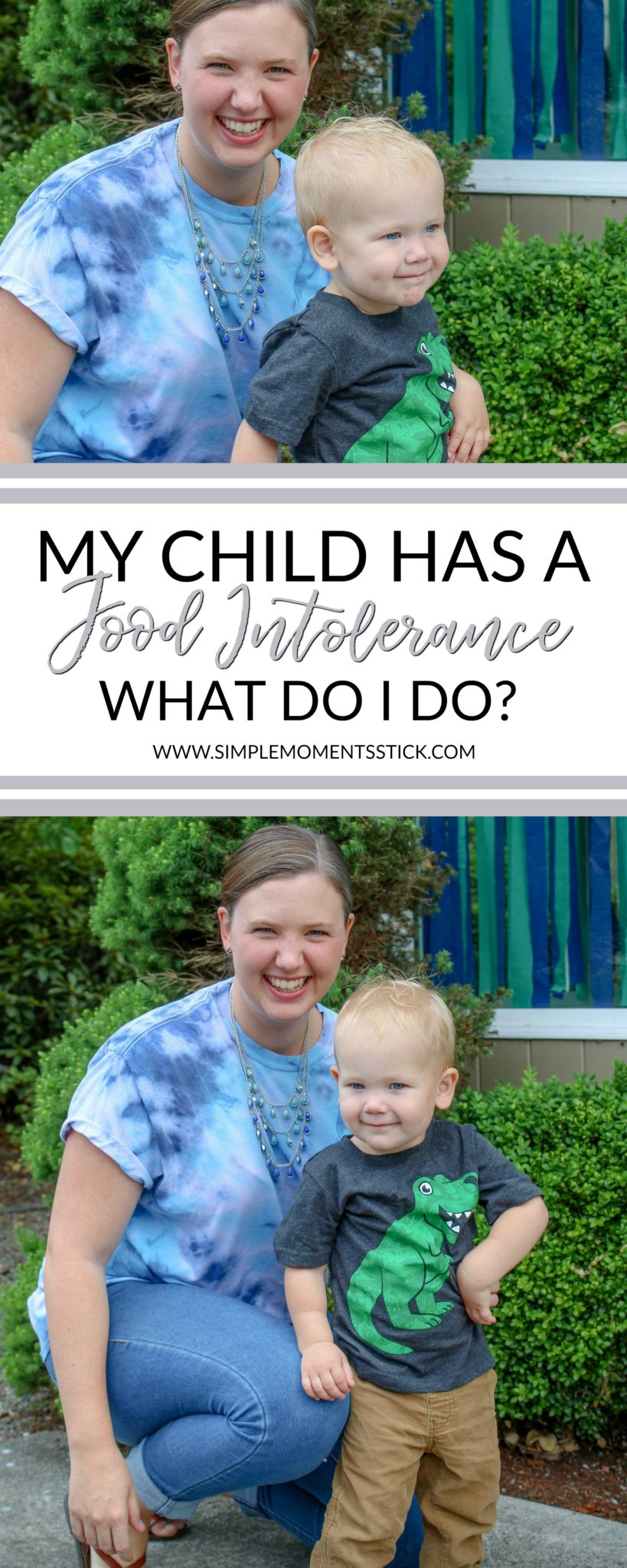What do you do if your little one is diagnosed with a child food intolerance? Let me tell you!