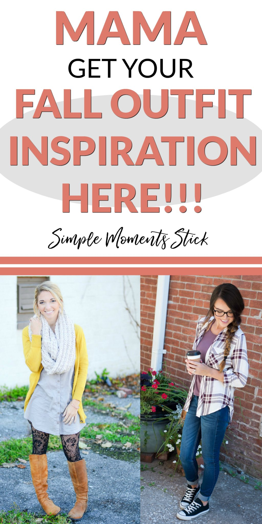 Looking to spice up your wardrobe a little bit?  Join these gals in discovering how to find comfort in your fall mom wardrobe.