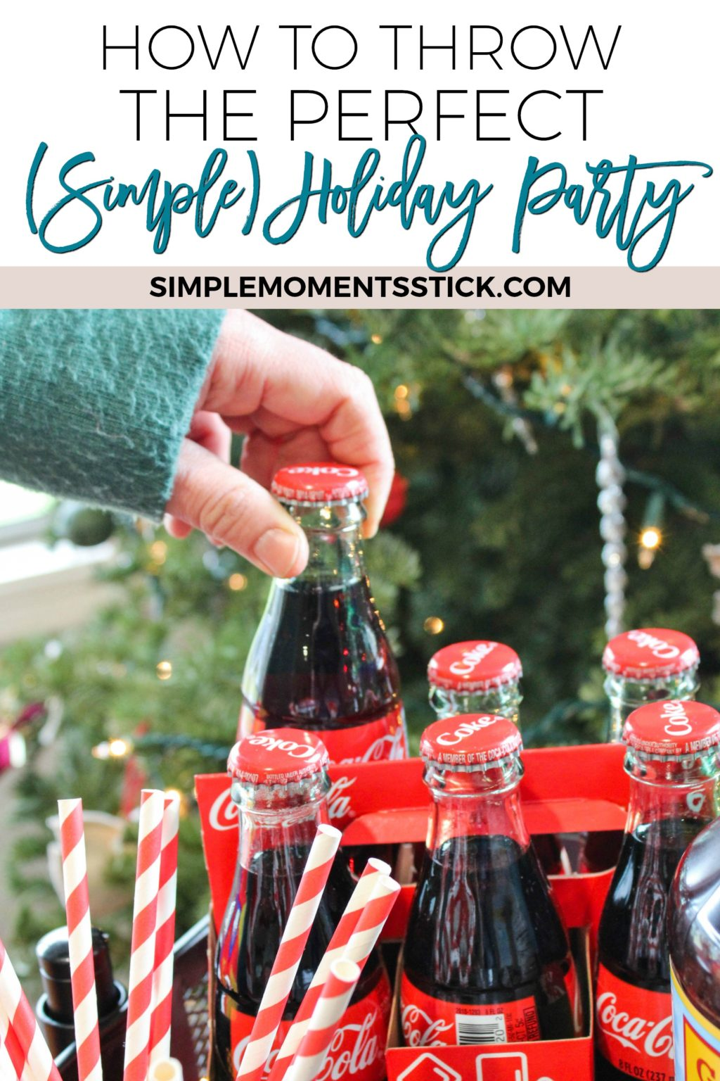 Sometimes the perfect holiday party is the simplest holiday party! Click through to get some great tips for throwing a simple but fantastic party!