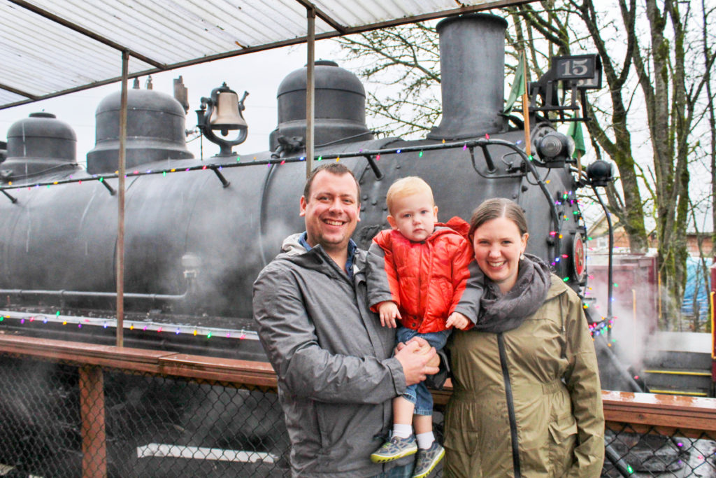 Begin a new family tradition by riding on the Polar Express