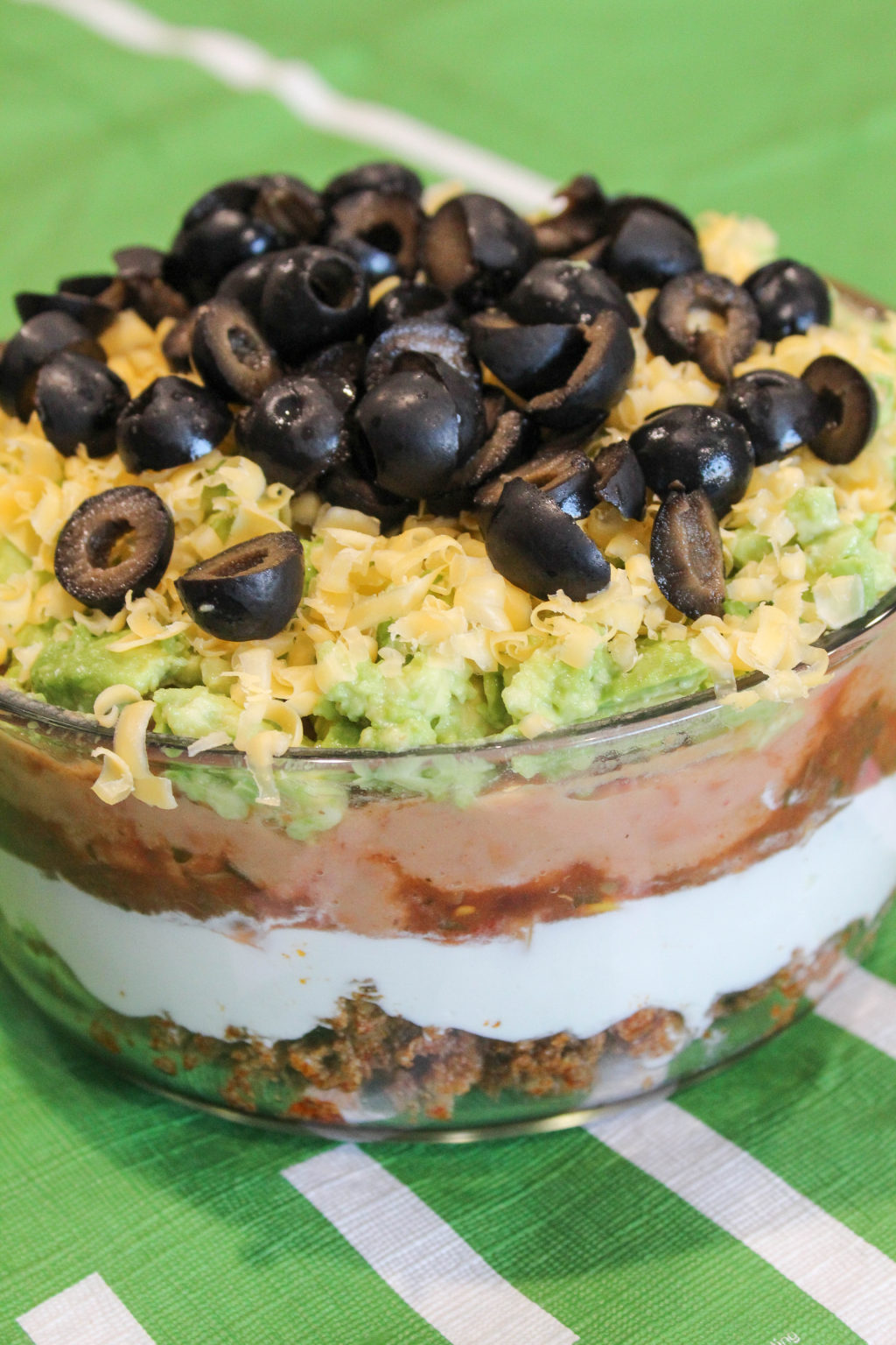 Amazing Seven Layer Dip!