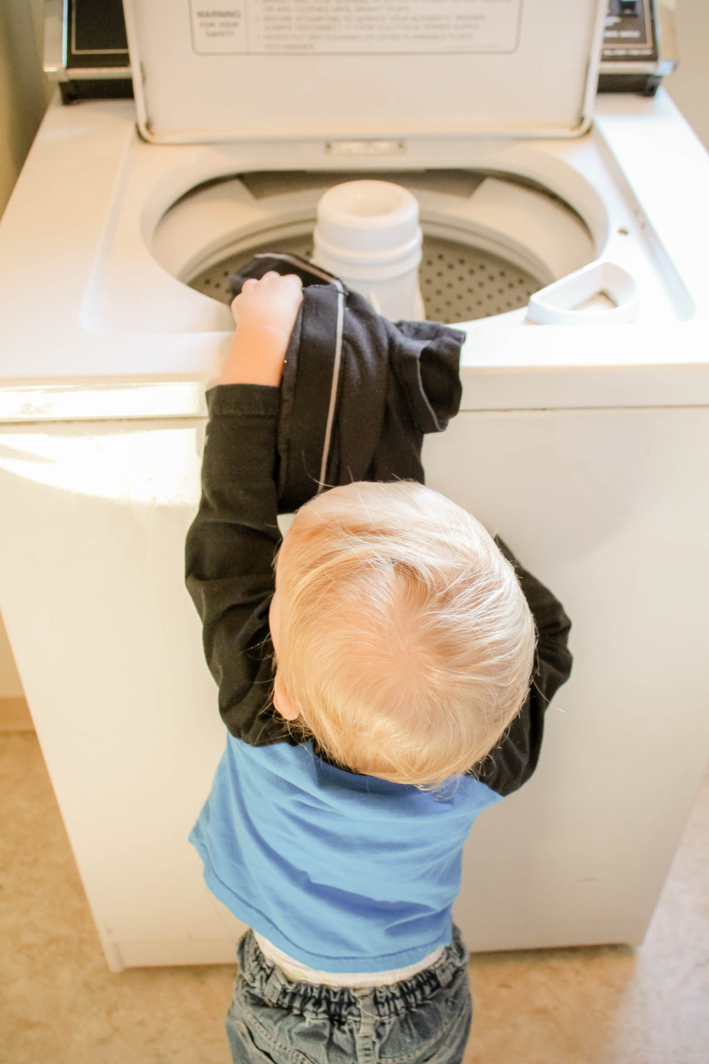 "You may be asking, ""What chores can a toddler do?""  If so, this post is for you!"