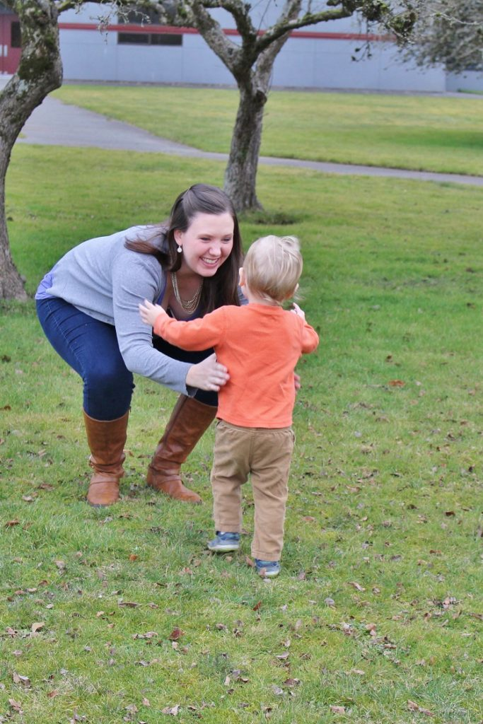 Pregnancy is totally different with a toddler than it was the first time around...  Click through to find out why!