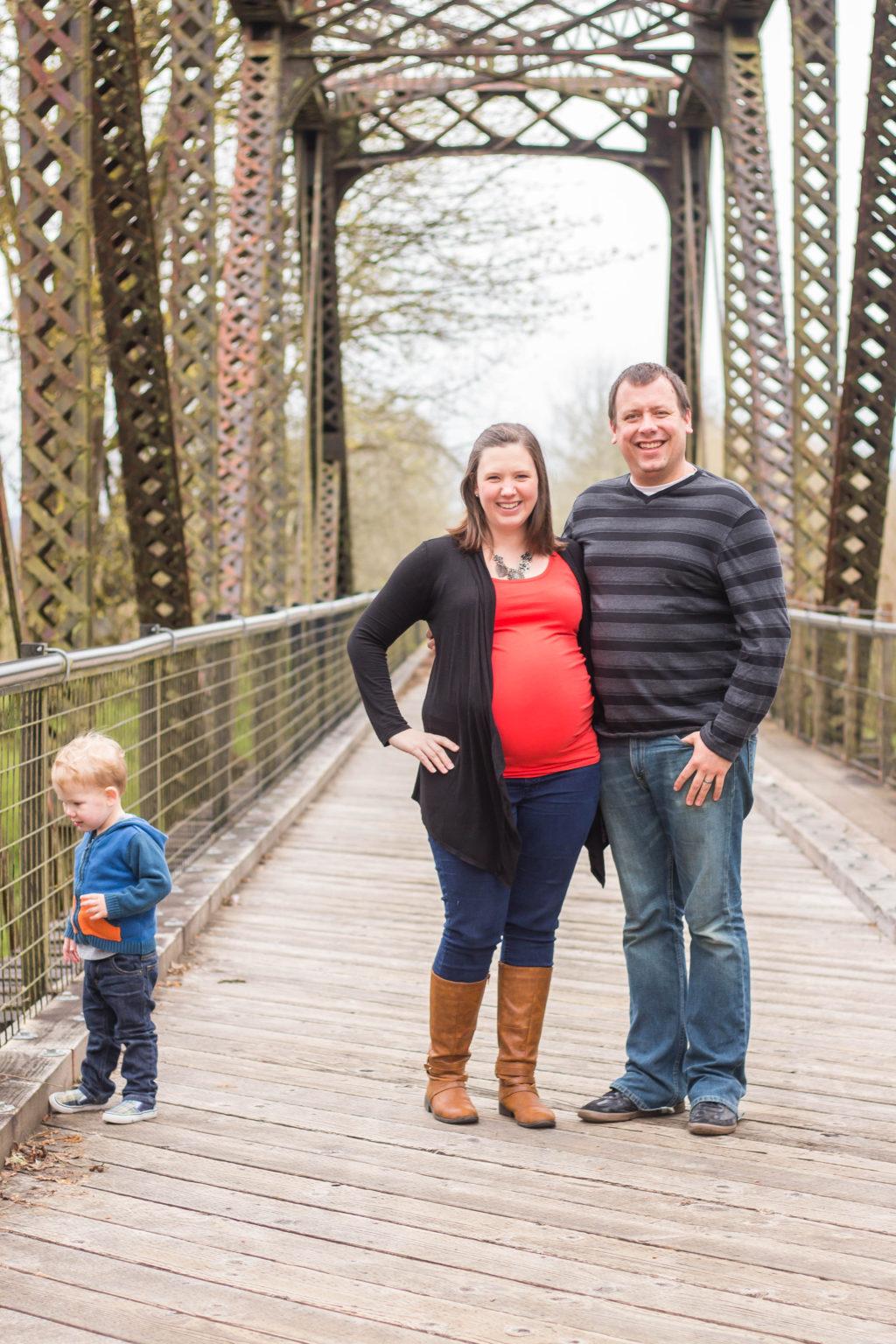 Adorable maternity photos!