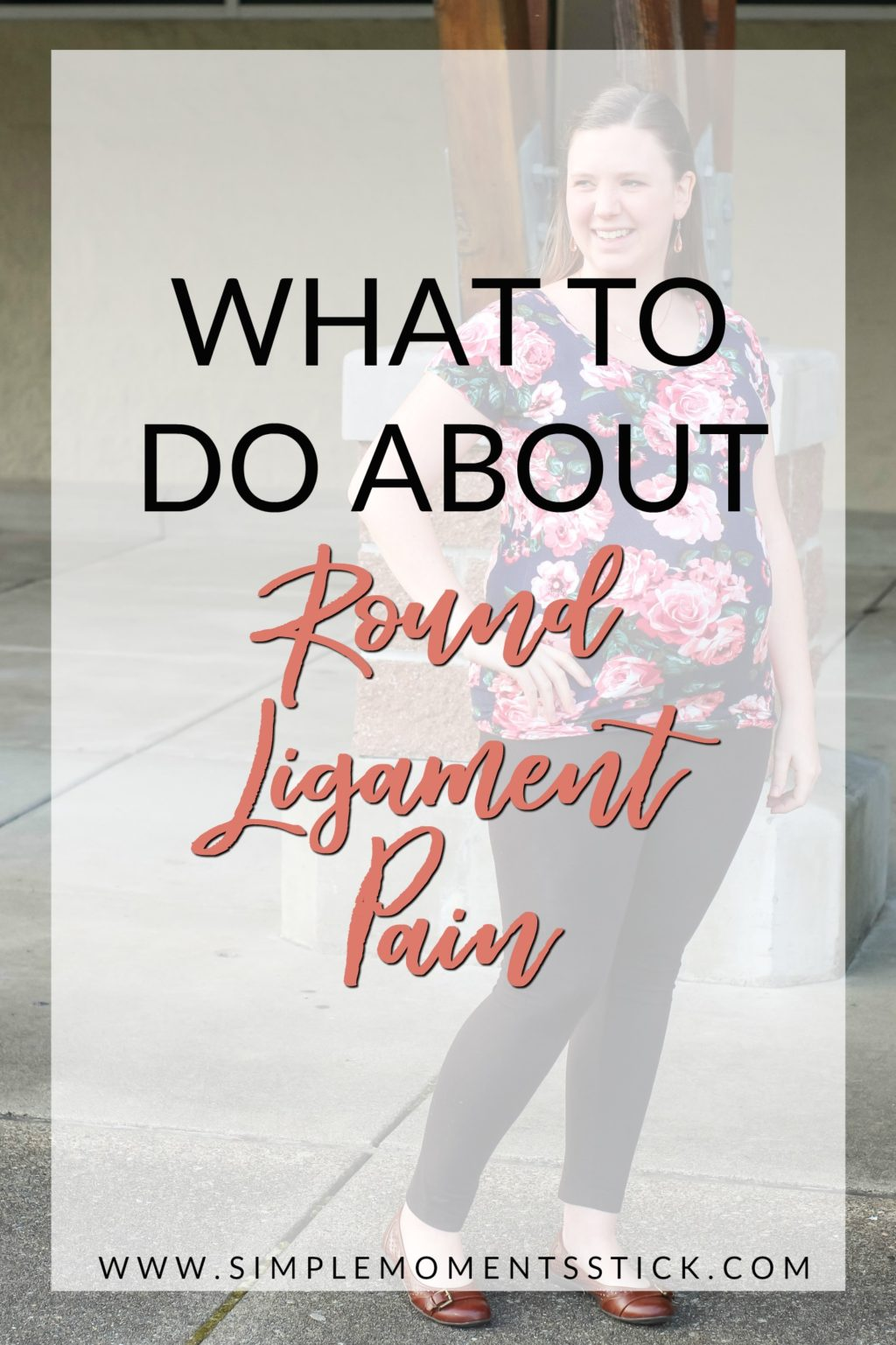 If you're wondering what helps round ligament pain, you're in luck! This post has tons of tips and tricks for dealing with round ligament pain and not letting it ruin your pregnancy.