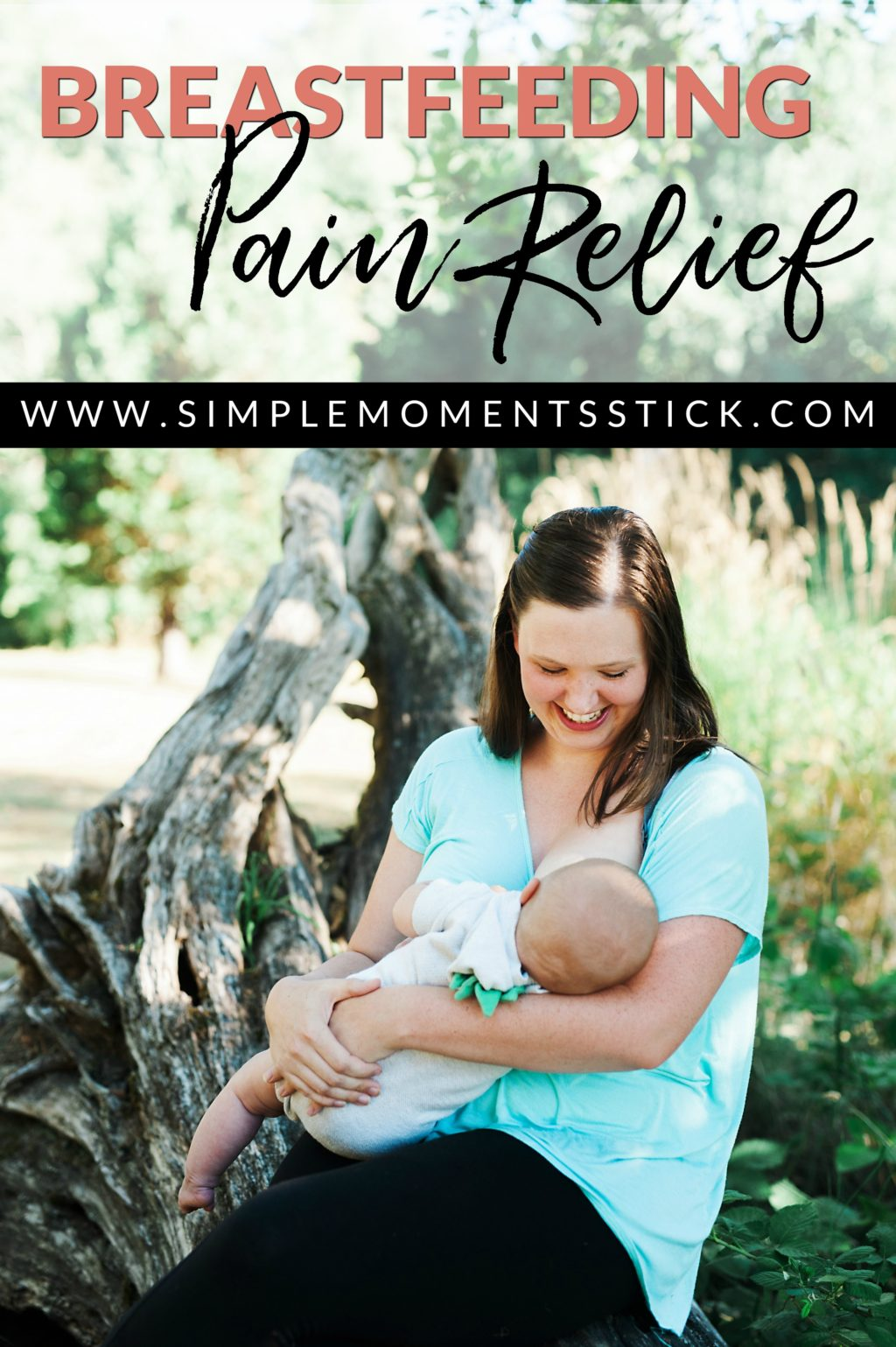 All the tips you need for breastfeeding pain relief! #breastfeeding #normalizebreastfeeding