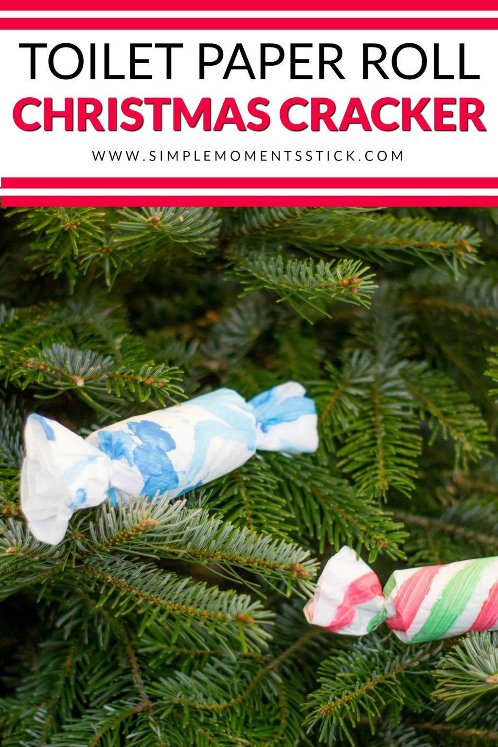 Toilet paper roll Christmas craft