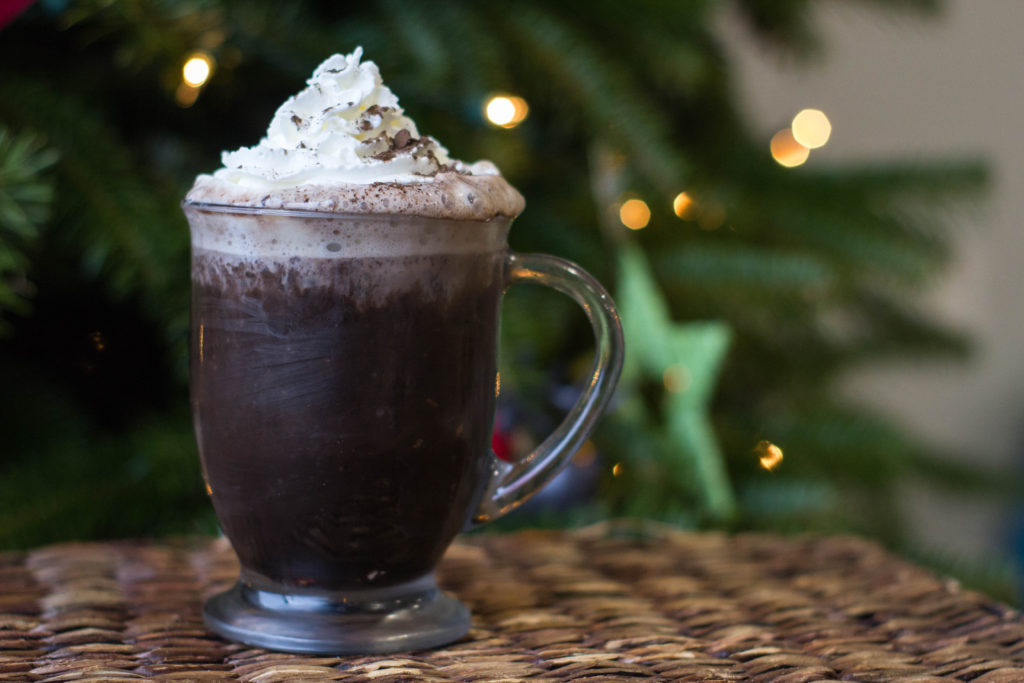 Click through to get the recipe for the tastiest hot chocolate you can make at home!