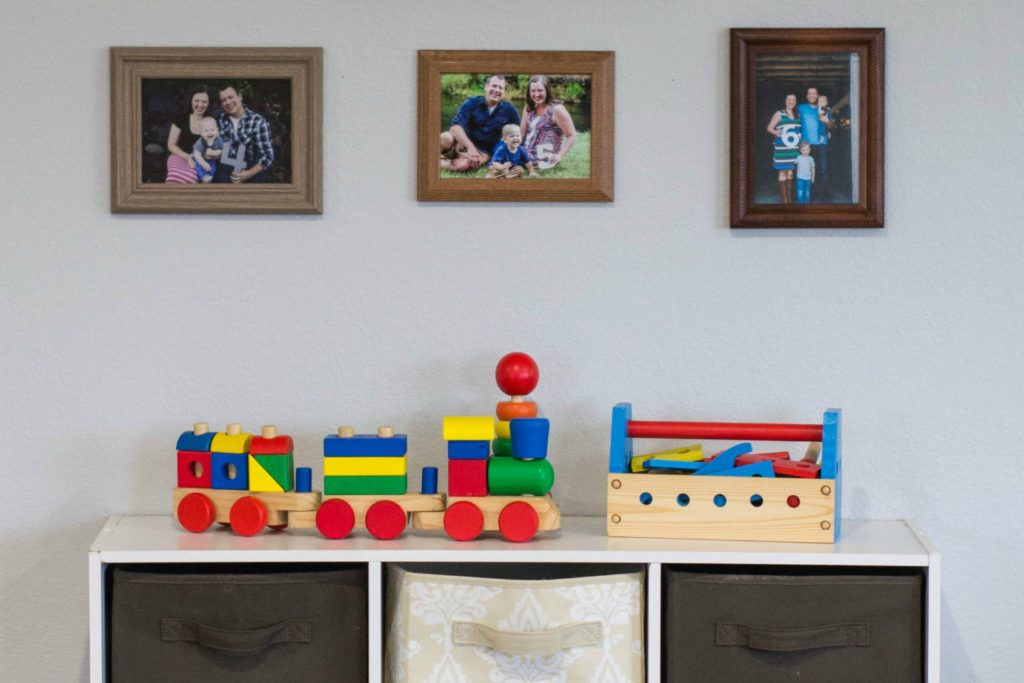 Overrun by toys? Find out how to organize kid's toys here!