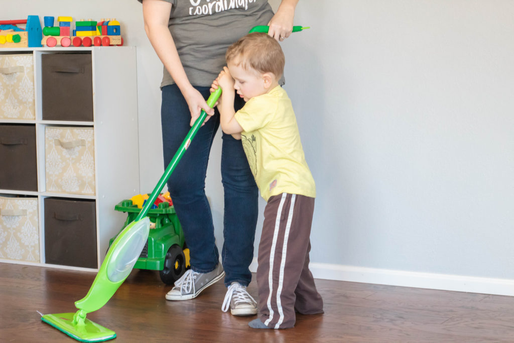 List of age appropriate chores