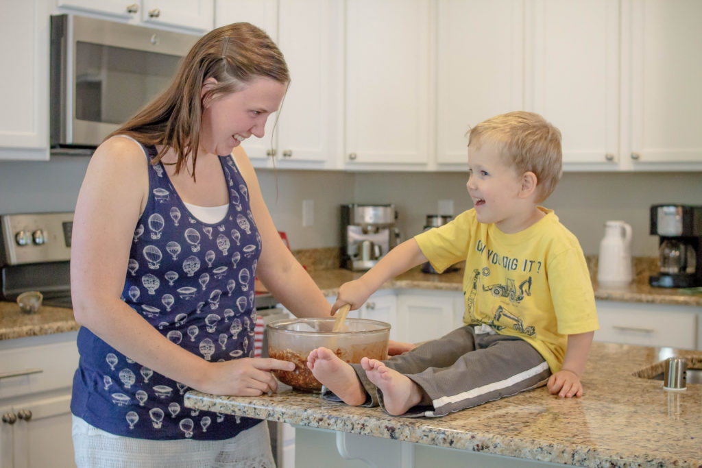 Great tips for cooking with preschoolers