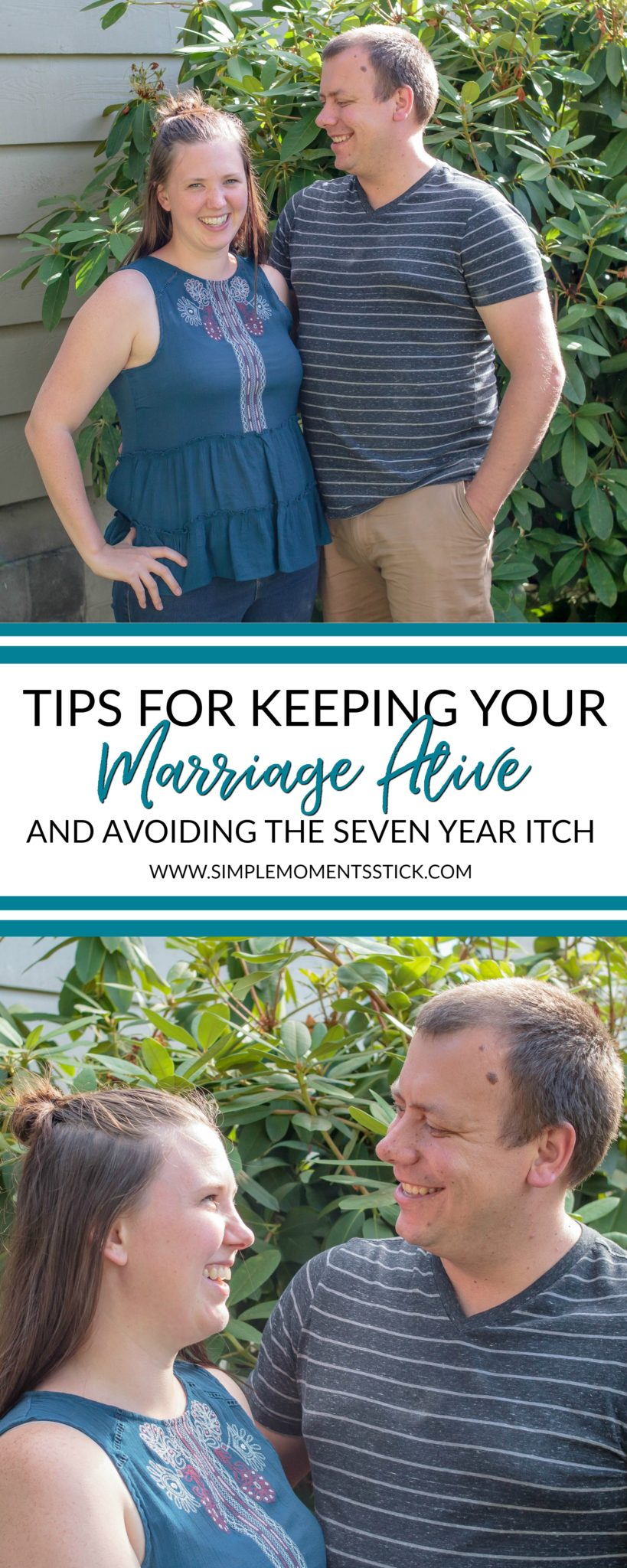 Tips for seven years of marriage! Make sure you avoid the seven year itch! #marriage #marriagetips #anniversary #sevenyearitch #7yearitch #sevenyearsofmarriage #marriageadvice