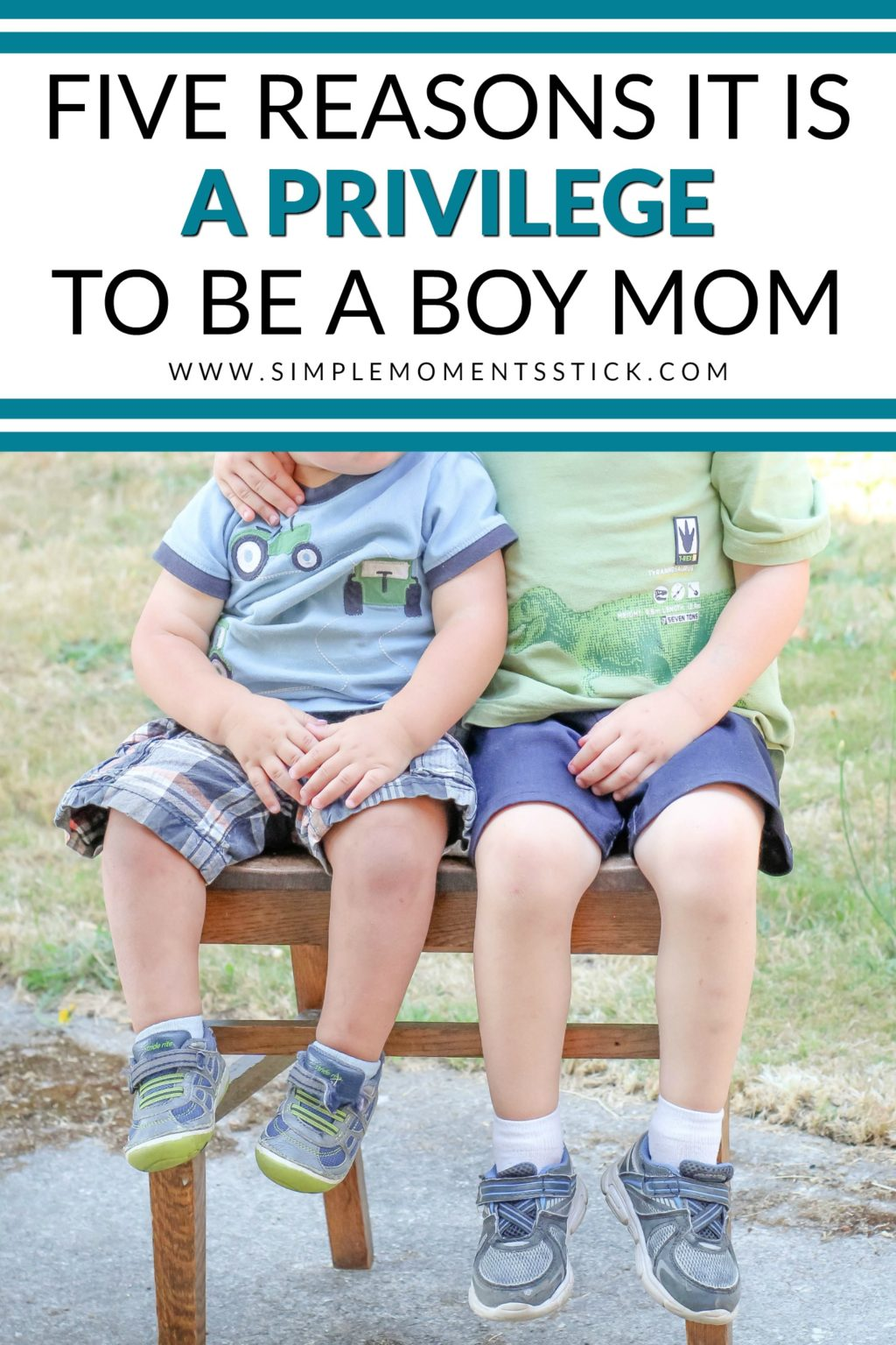 Being a boy mom is a privilege! Here are five important truths!