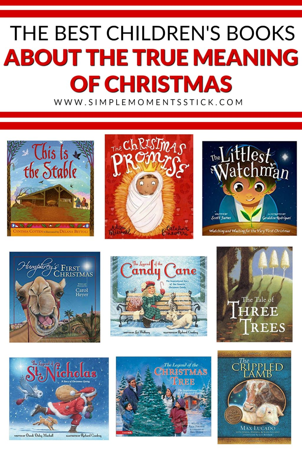 Are you looking for children's books about the true meaning of Christmas? This post has the best children's nativity books, children's books about Christmas tradition, and children's books about the real St. Nicholas. These are sure to become your kids new favorite Christmas books!