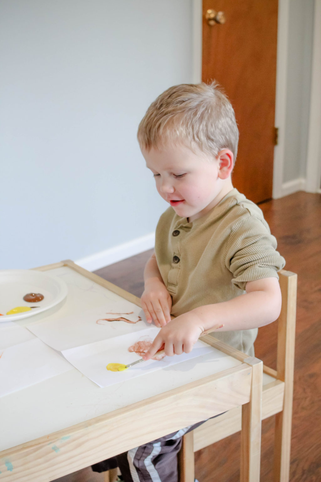Great crafts with toilet paper rolls for Thanksgiving