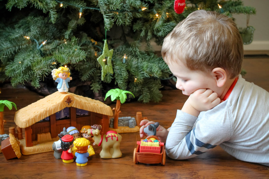 Are you looking for ideas to celebrate Jesus' birthday with your kids? These ideas allow you to focus on Jesus this Christmas and not center around the glitz and glamor of the holiday. Let's all be putting Jesus first at Christmas!