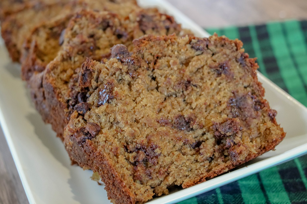 The ultimate moist banana bread recipe. Seriously the only banana bread recipe you're going to need from here on out!