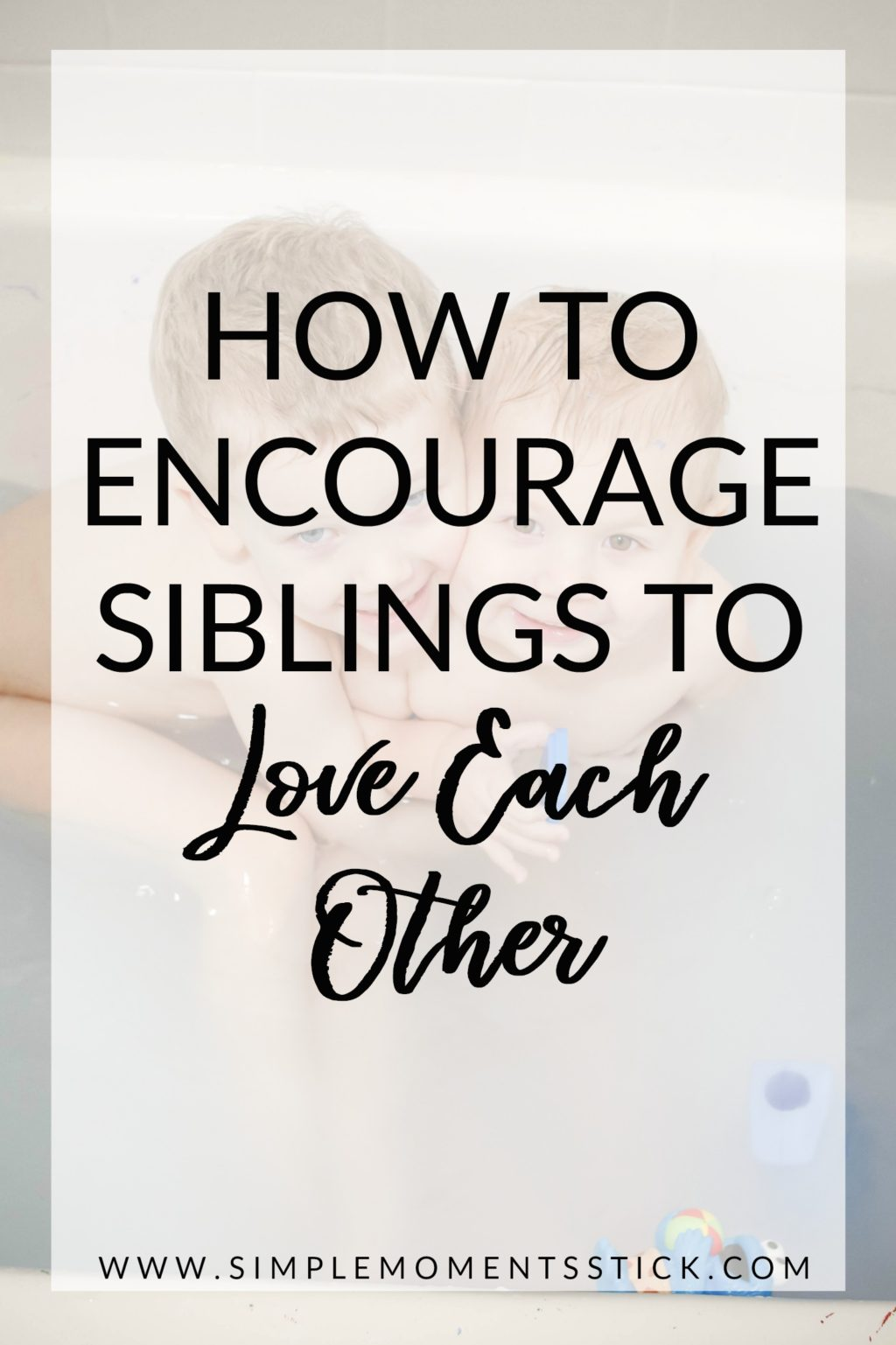 Ever wonder how to encourage siblings to love each other? It really is the age old question! We're working hard on raising brothers to be best friends but it's definitely tough! Keep reading to find out some great ideas on how to foster sibling friendship.