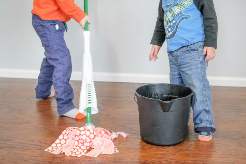 If you've ever wondered how to get your kids involved in spring cleaning, this post is for you!
