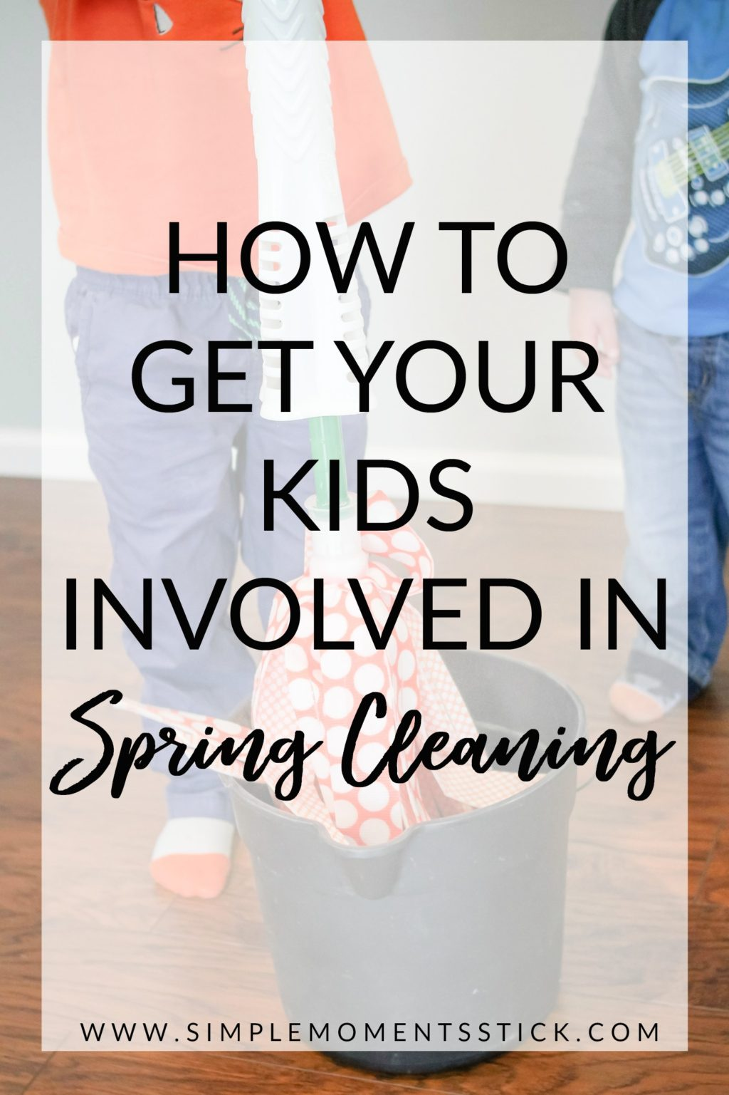 Ever wonder how to get your kids involved in spring cleaning? This post has your answers!